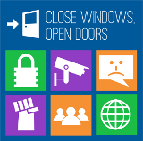 CLOSE WINDOWS, OPEN DOORS  - Upgrade from Windows 8